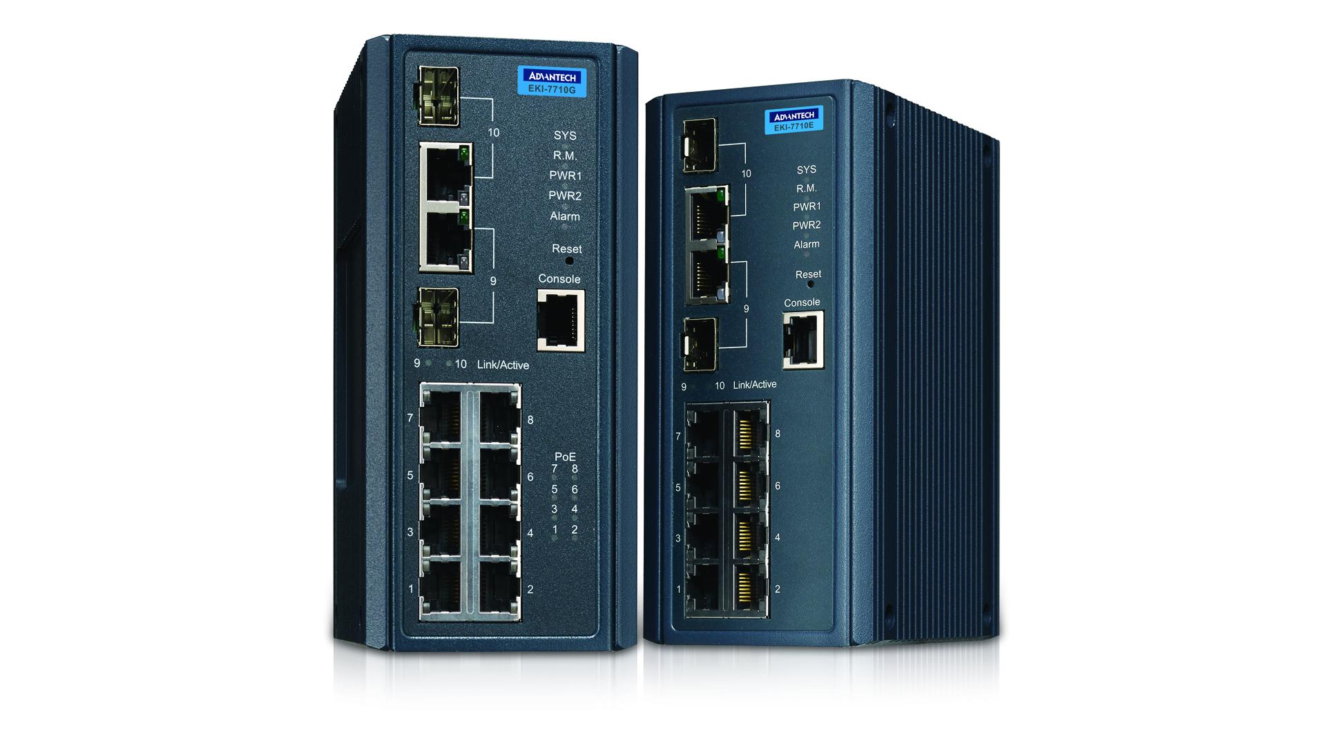 Managed switches   Pushing the limits of communication technology   MCS