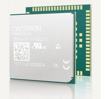 Thales (Gemalto) ELS61-E Release 1 - LTE | 4G engines | Product | MCS