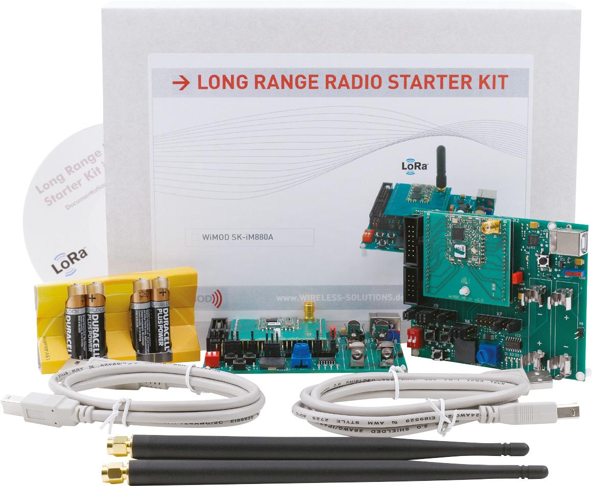 IMST LoRa Starterskit SKiM880B | LoRa ontwikkelmodules | Product | MCS