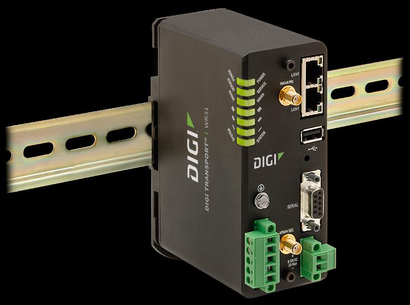 Digi WR31 4G-LTE Robust Atex router (WR31-L12A-DE1-TB) | 4G routers | Product | MCS