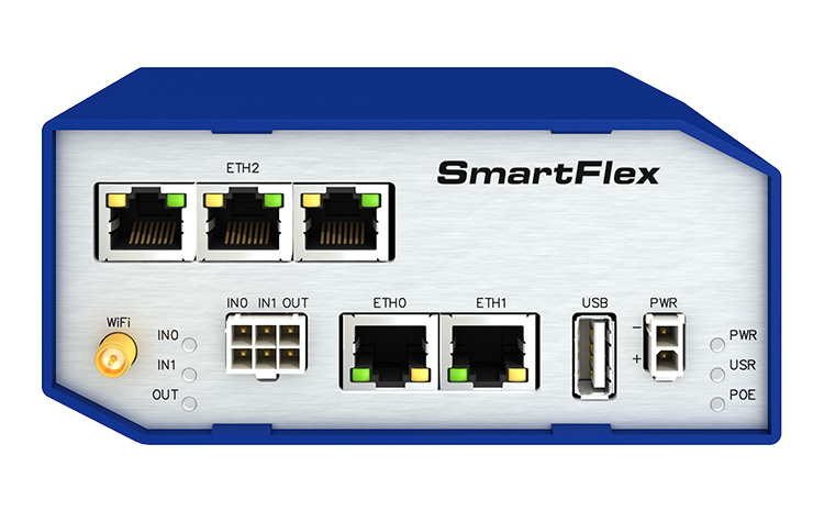 Advantech/Conel V3 SmartFlex Industrial LAN router 5xETH | Industriële IP/LAN router | Product | MCS