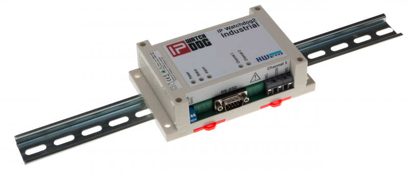 HWg IP WatchDog2 Serie - PING restarter with SNMP | Producten | MCS