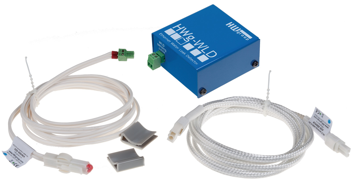 HWg WLD Serie - Ethernet IP Water Lek Detectie | Producten | MCS