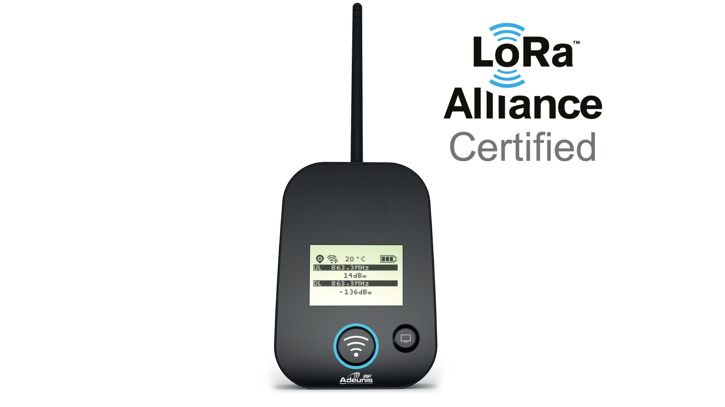LoRaWan Field Test Device 868MHz | LoRa end nodes, Test/meet apparatuur | Product | MCS