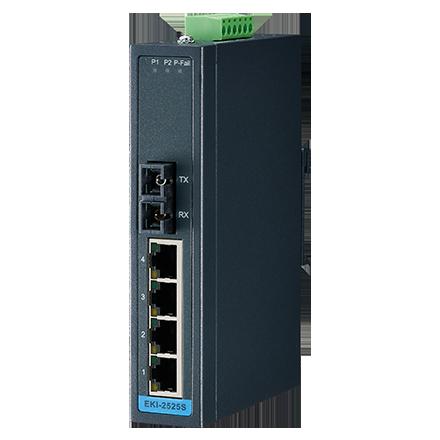 Advantech EKI-2525M Unmanaged switch, 4 Port | Producten | MCS