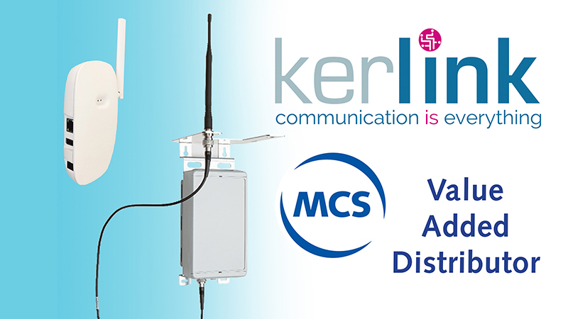 Value Added Distributor Kerlink in de Benelux | Pushing the limits of communication technology | MCS