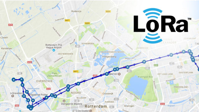 ITalks IoT package non-powered asset tracing LoRa Nederland | Pushing the limits of communication technology | MCS
