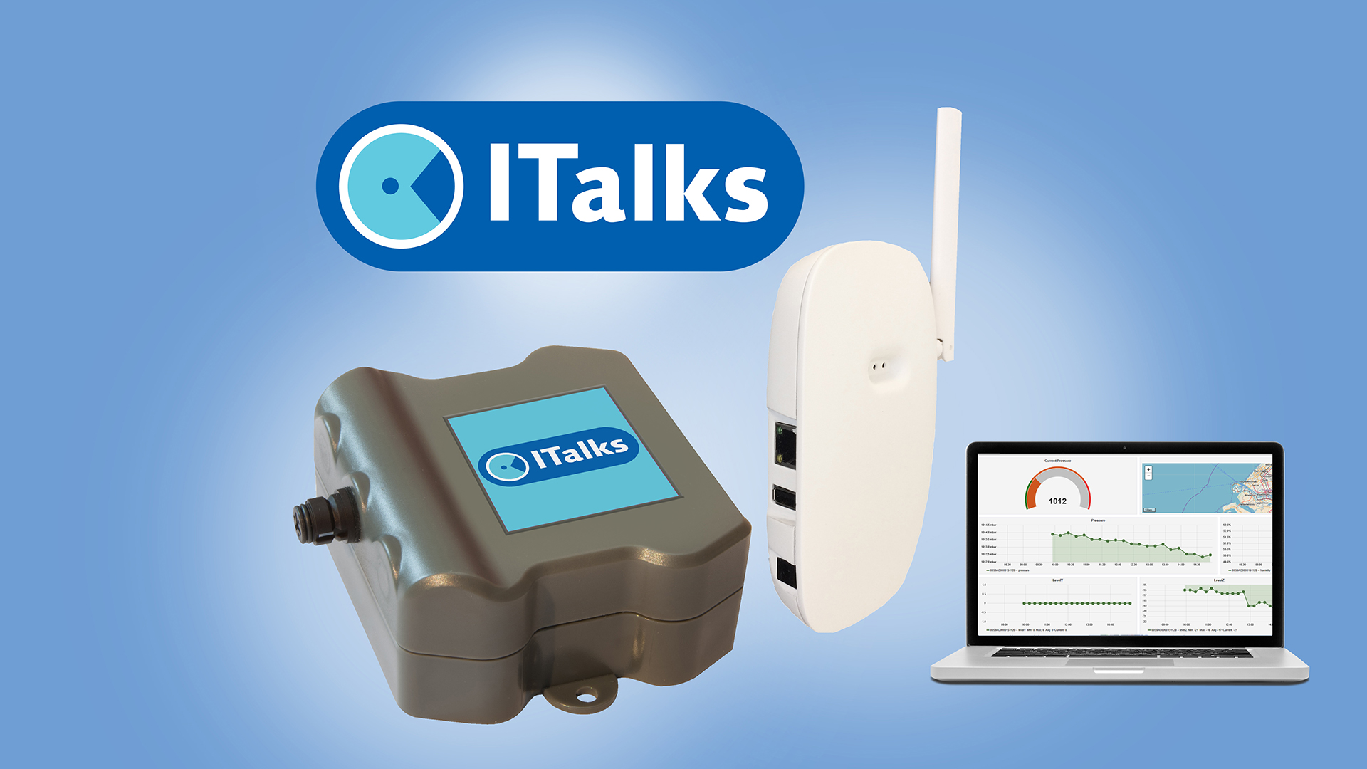 ITalks starterskit indoor LoRa Full | ITalks IoT suite, Private LoRa | Product | MCS