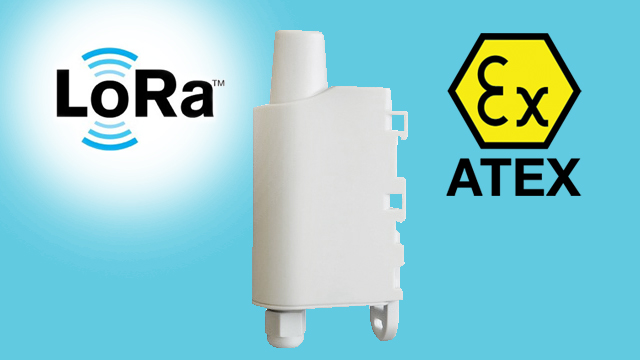 Adeunis LoRaWAN PULSEV2 ATEX, soldered battery | LoRa end nodes | Product | MCS