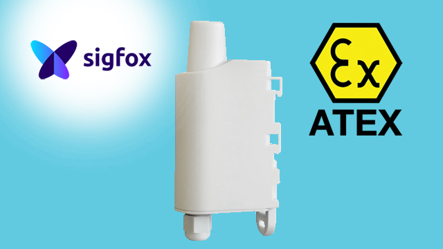 Adeunis Sigfox Pulse ATEX, soldered battery | Sigfox sensors | Product | MCS