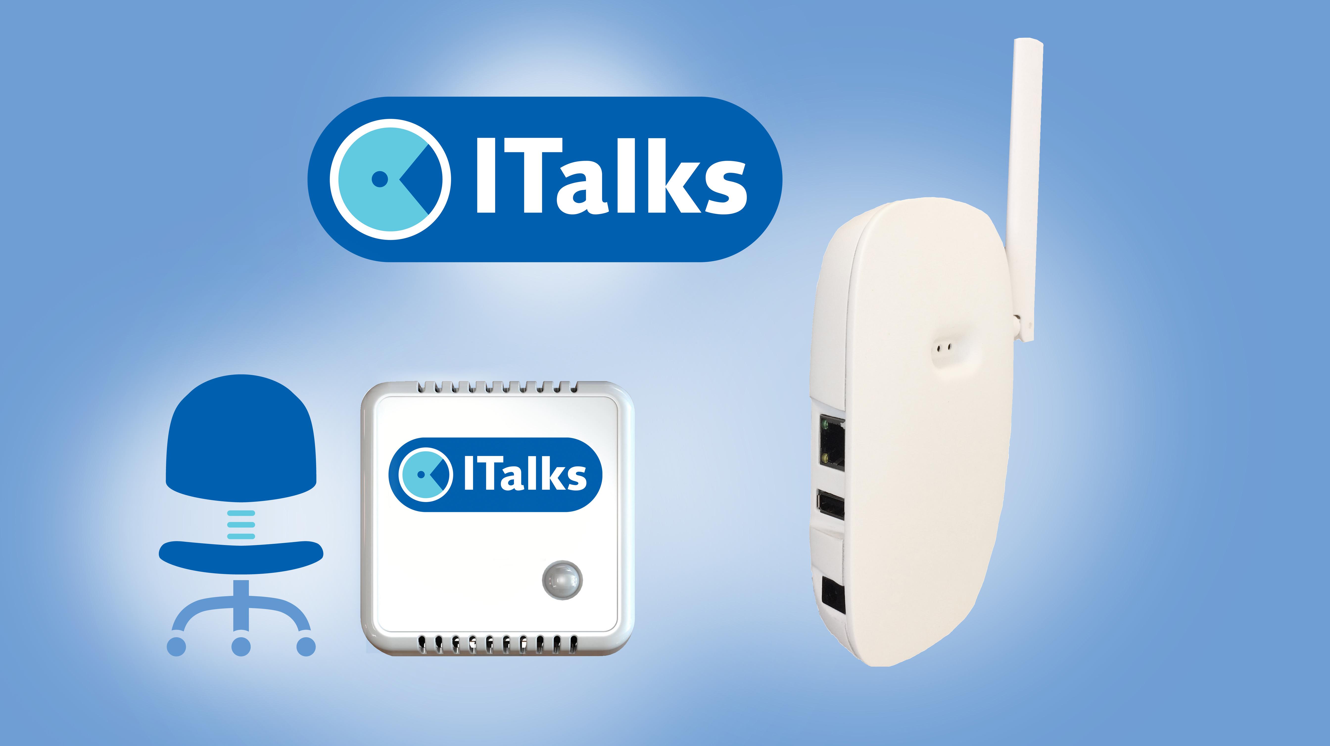 ITalks Starterskit werkplekbezetting | ITalks IoT suite | Product | MCS
