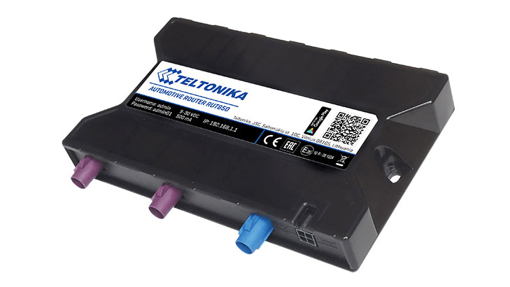 Teltonika RUT850 LTE router automotive | Producten | MCS