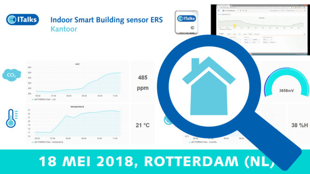 Smart Building? Welke sensoren? Welk netwerk? – 18 mei 2018 | Pushing the limits of communication technology | MCS