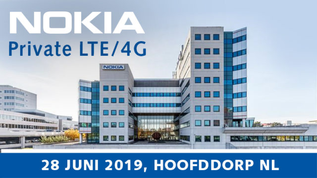 Inspirevent Nokia Private LTE    |  28 juni 2019 | Pushing the limits of communication technology | MCS