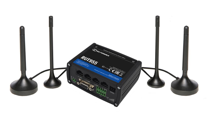 Teltonika RUT955 LTE router i/o RS232 RS485, V2 | 4G routers | Product | MCS
