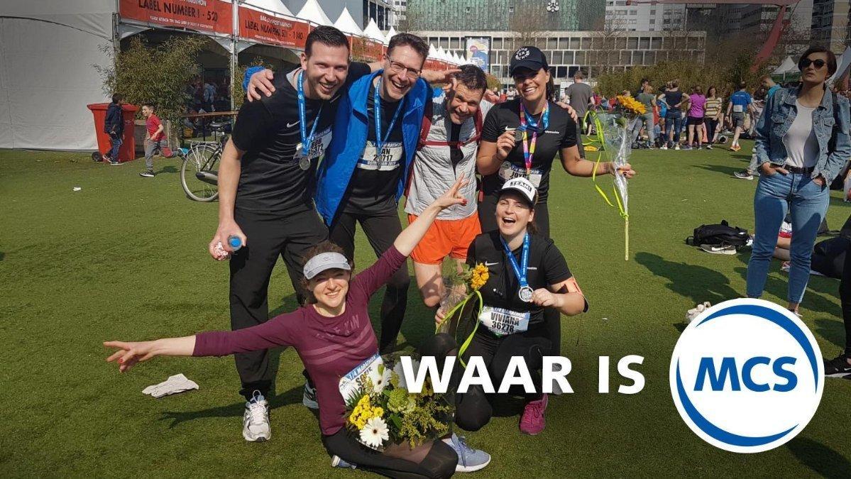 MCS en de Rotterdamse marathon | Pushing the limits of communication technology | MCS