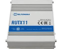 Teltonika RUTX11 CAT6 LTE Dualband WiFi next generation industrial router | Producten | MCS