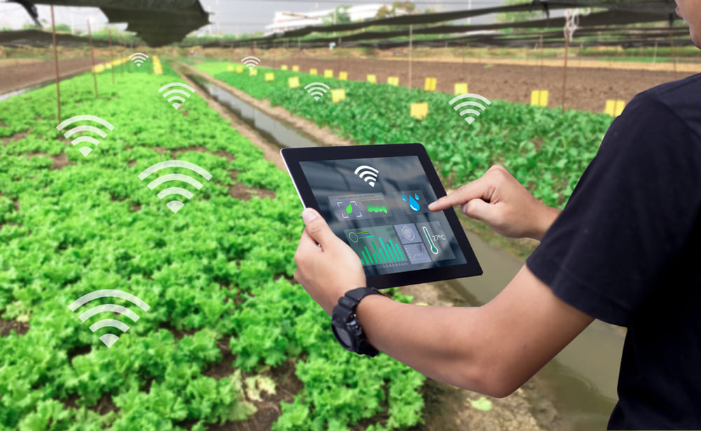 Smart farming | Pushing the limits of communication technology | MCS