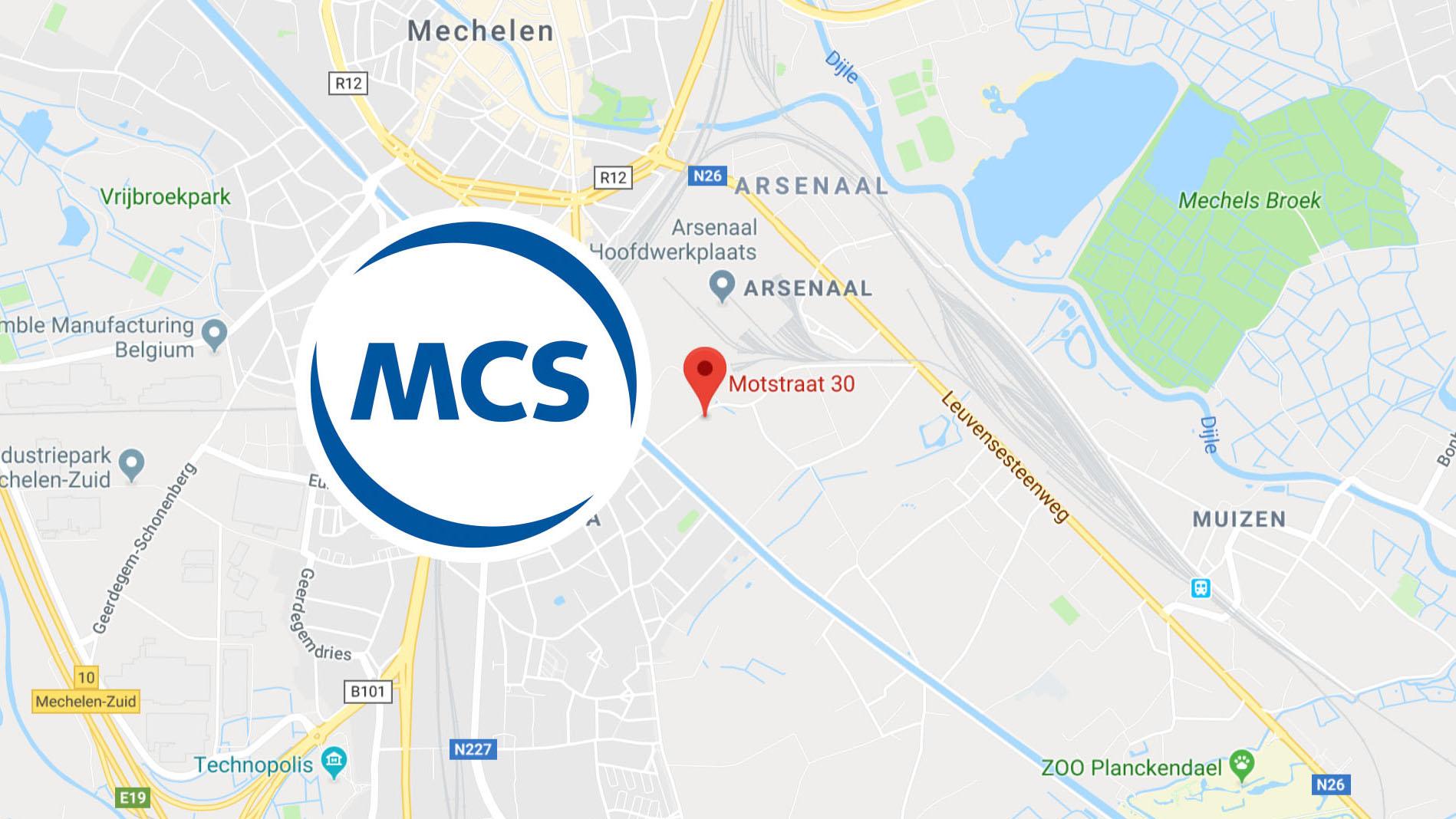 MCS België nieuwe locatie | Pushing the limits of communication technology | MCS