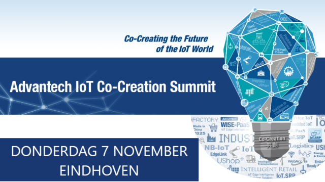 Advantech IoT Co-Creation Summit | 7 november 2019 | Pushing the limits of communication technology | MCS