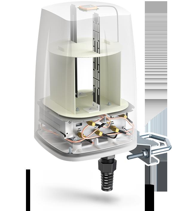 QuSpot Teltonika buitenantenne voor Teltonika RUT routers | 4G antennes | Product | MCS