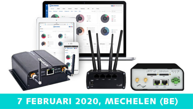 Let's get connected – routers | 7 februari 2020 | Pushing the limits of communication technology | MCS