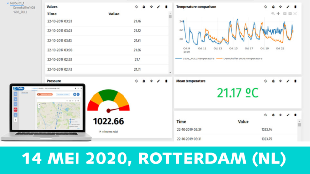Workshop: Ontdek de nieuwste dashboarding tool van ITalks IoT suite | 14 mei 2020 | Pushing the limits of communication technology | MCS