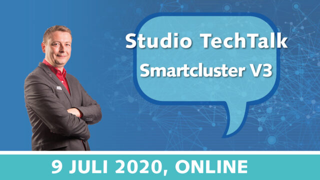 Studio TechTalk: Smartcluster VPN V3 – Veilig remote beheer van je waardevolle assets | 9 juli 2020 | Pushing the limits of communication technology | MCS