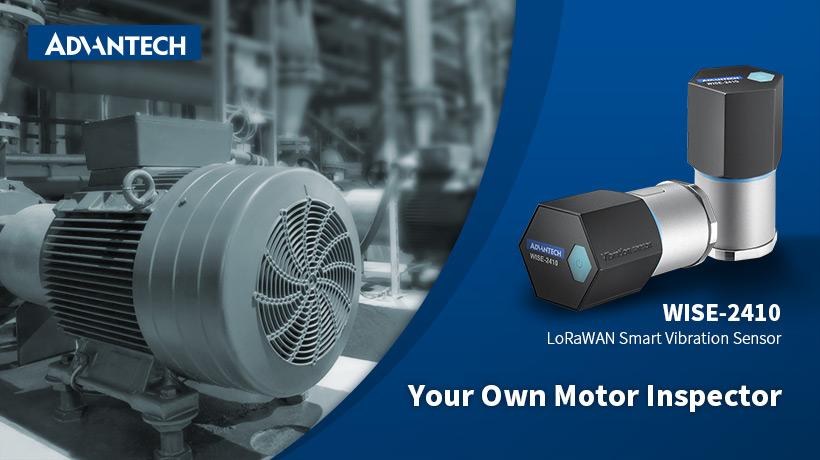 Advantech Wise-2410 industrial shock/vibration sensor LoRa | LoRa sensors | Product | MCS