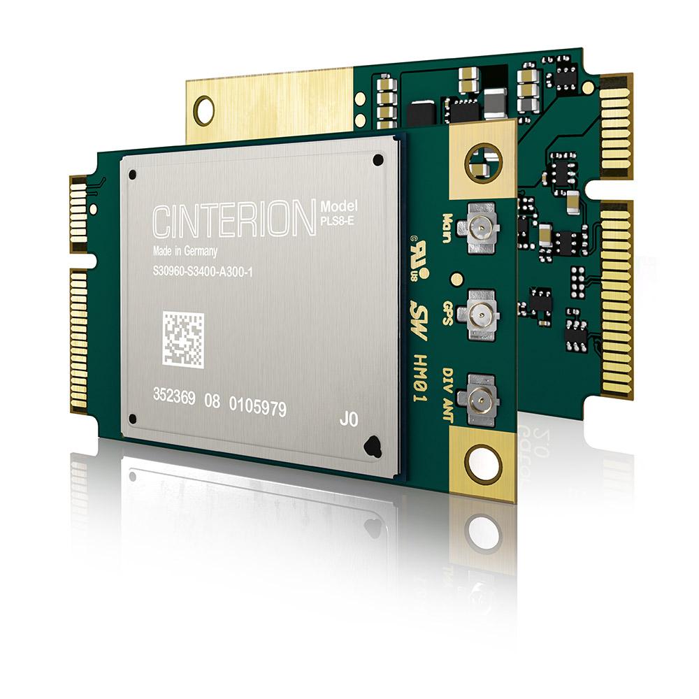 Thales (Gemalto) Cinterion mPLS62-W miniPCI, Cat1 | 4G engines, NB IoT ontwikkelmodules | Product | MCS
