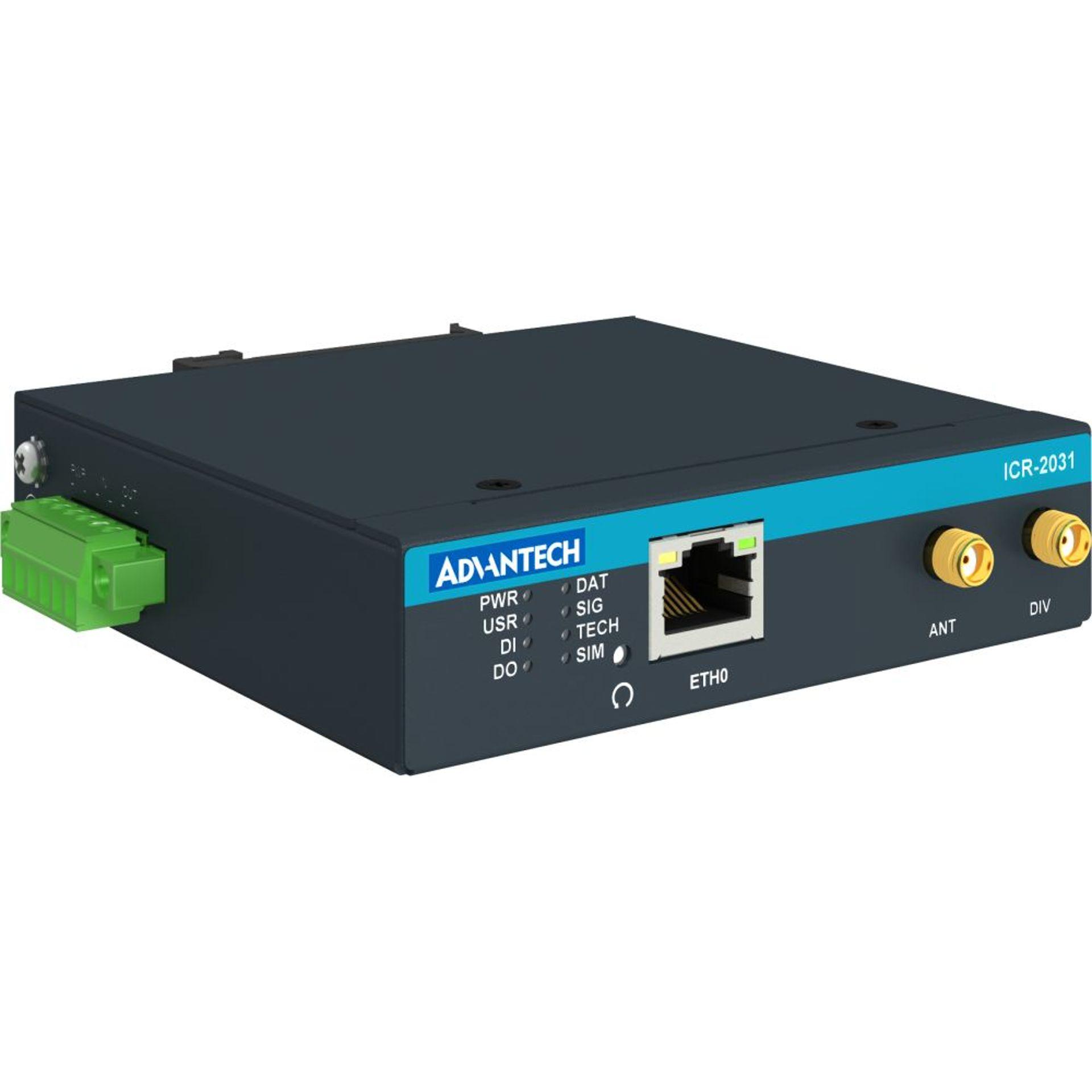 Advantech ICR-2031 4G instap router 1x SIM, 1x Ethernet | 4G routers/gateways | Product | MCS