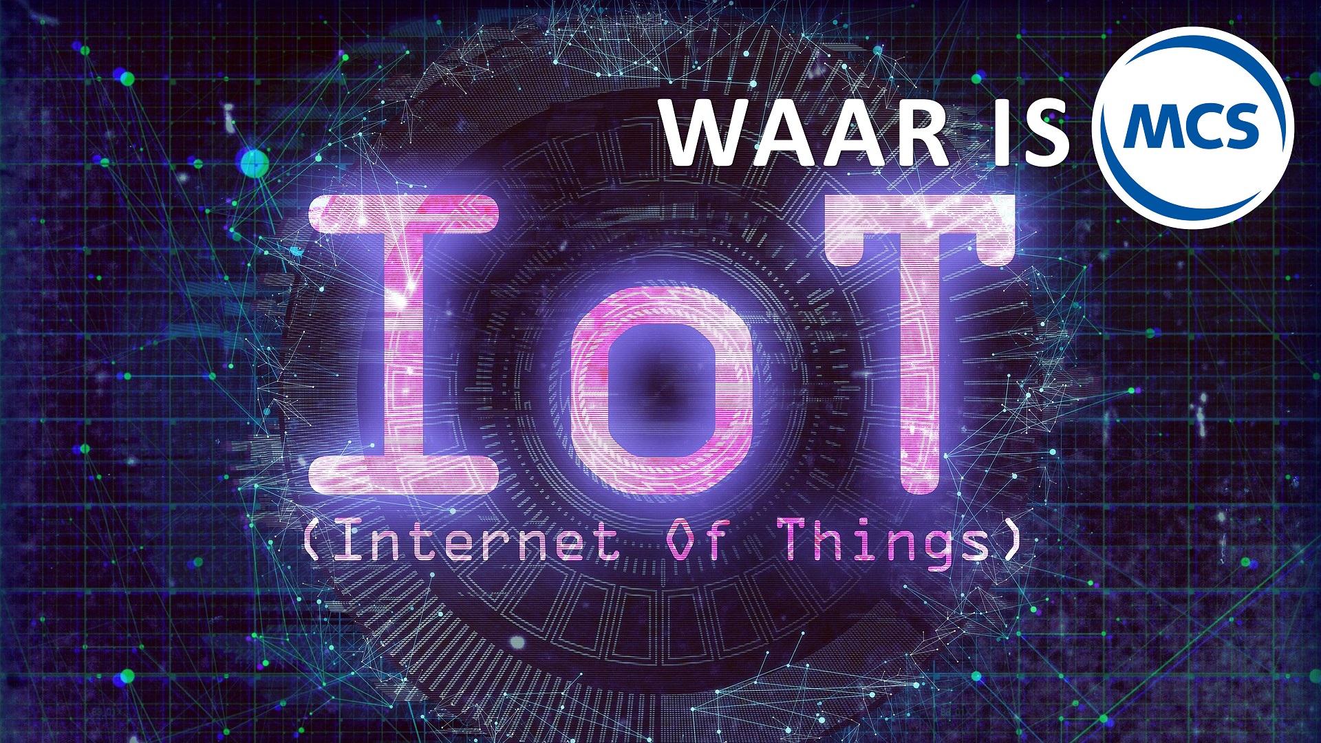 MCS en Smart Week of IoT | Pushing the limits of communication technology | MCS