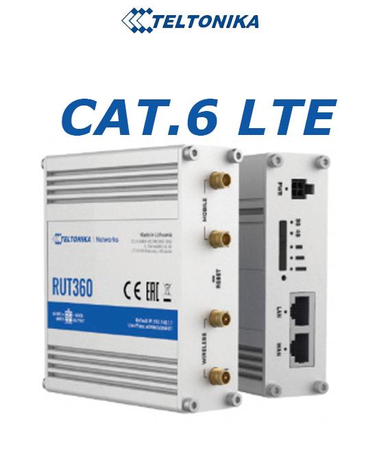 Teltonika RUT360 LTE CAT6 router | 4G routers/gateways | Product | MCS