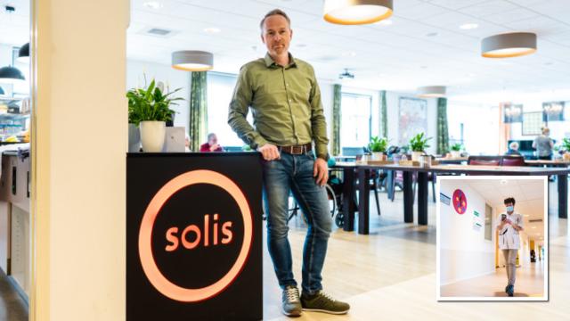 Een betrouwbare en veilige draadloze infrastructuur voor Zorggroep Solis | Pushing the limits of communication technology | MCS