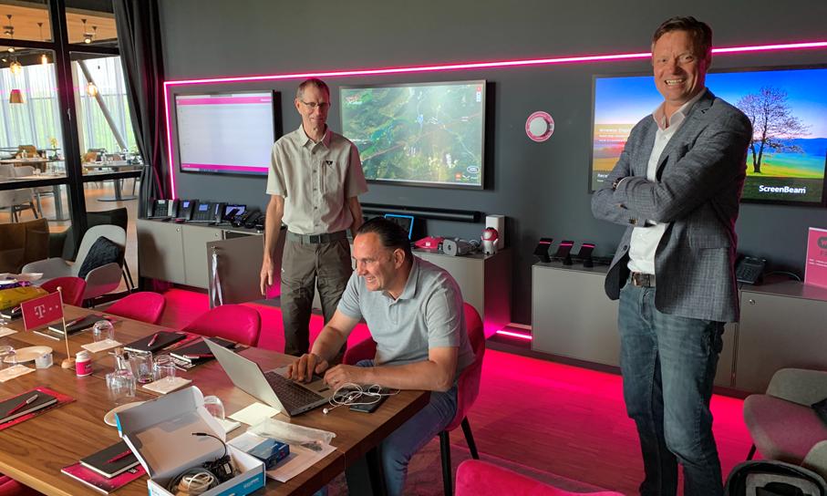 MCS Private Connect SensDesk installeren in T-Mobile Innovation Center