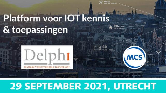 Lancering Delphi: Internet of Teams | 29 september 2021 | Pushing the limits of communication technology | MCS
