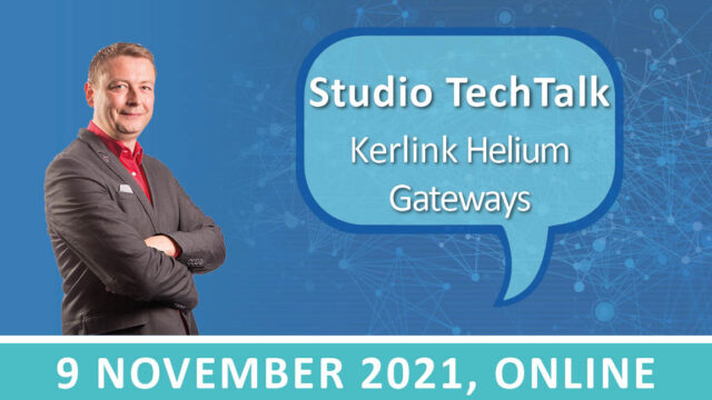 Studio TechTalk: Cryptocurrency verdienen met Kerlink Helium Gateways | 9 november 2021 | Pushing the limits of communication technology | MCS