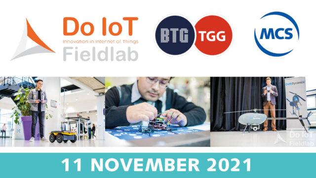 Unlocking 5G event Do IoT Fieldlab | Pushing the limits of communication technology | MCS