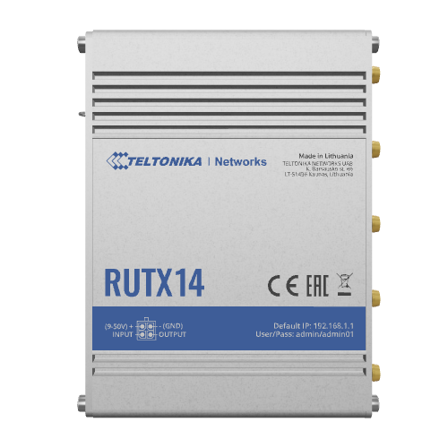 Teltonika RUTX14 CAT12 LTE router met load balancing optie | 4G routers/gateways | Product | MCS